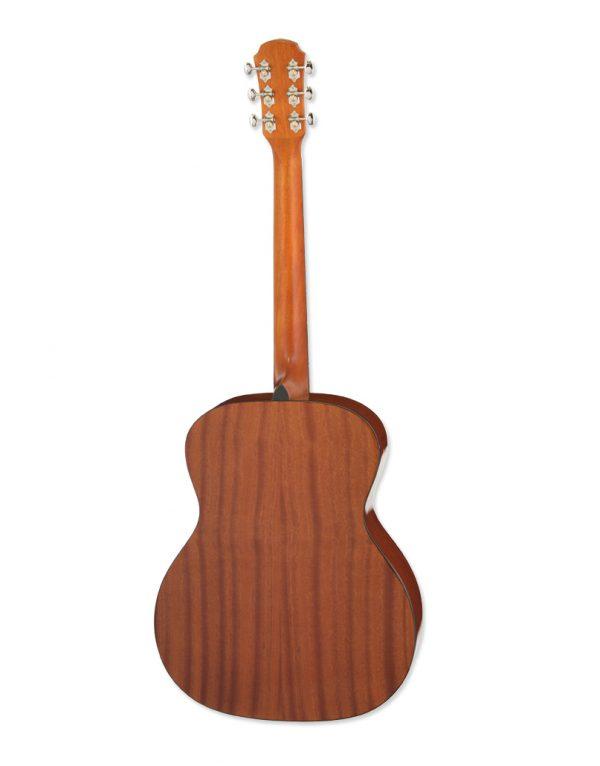 Aria 201 western guitar akustisk guitar back