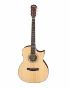 ARIA 201CE Acoustic guitar with cut-a-way akustisk guitar med detalje