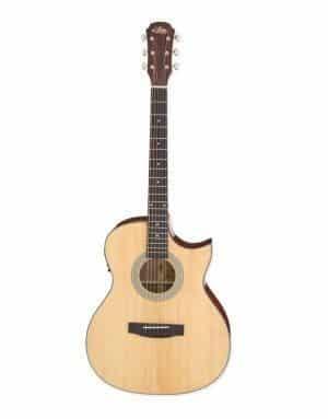 ARIA 201CE Acoustic guitar with cut-a-way akustisk guitar med detalje
