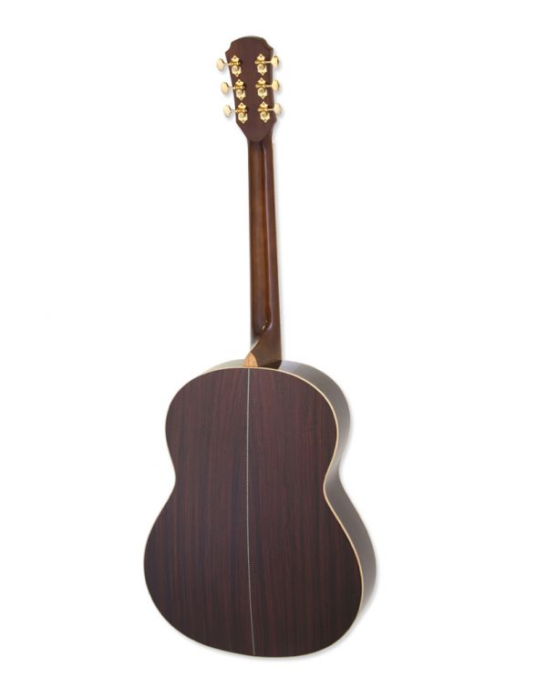 Aria MSG-05-N Top akustisk guitar back