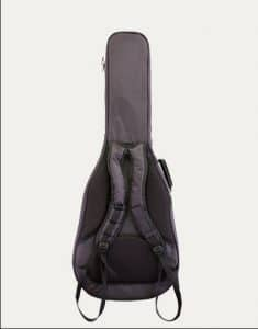 MOJO CLASSICAL GIGBAG DELUXE luksus guitar taske back