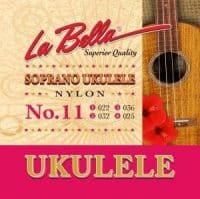 La Bella Ukulele Sopran strings no.11 ukulele strenge