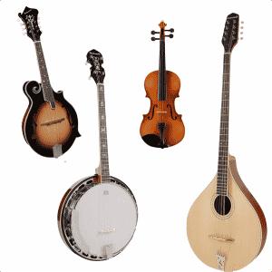 Andre streng instrumenter og tilbehør